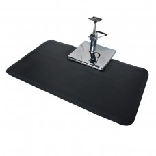 "Rectangular Salon Mat 3' X 5' X 3/4"" for Square Base"